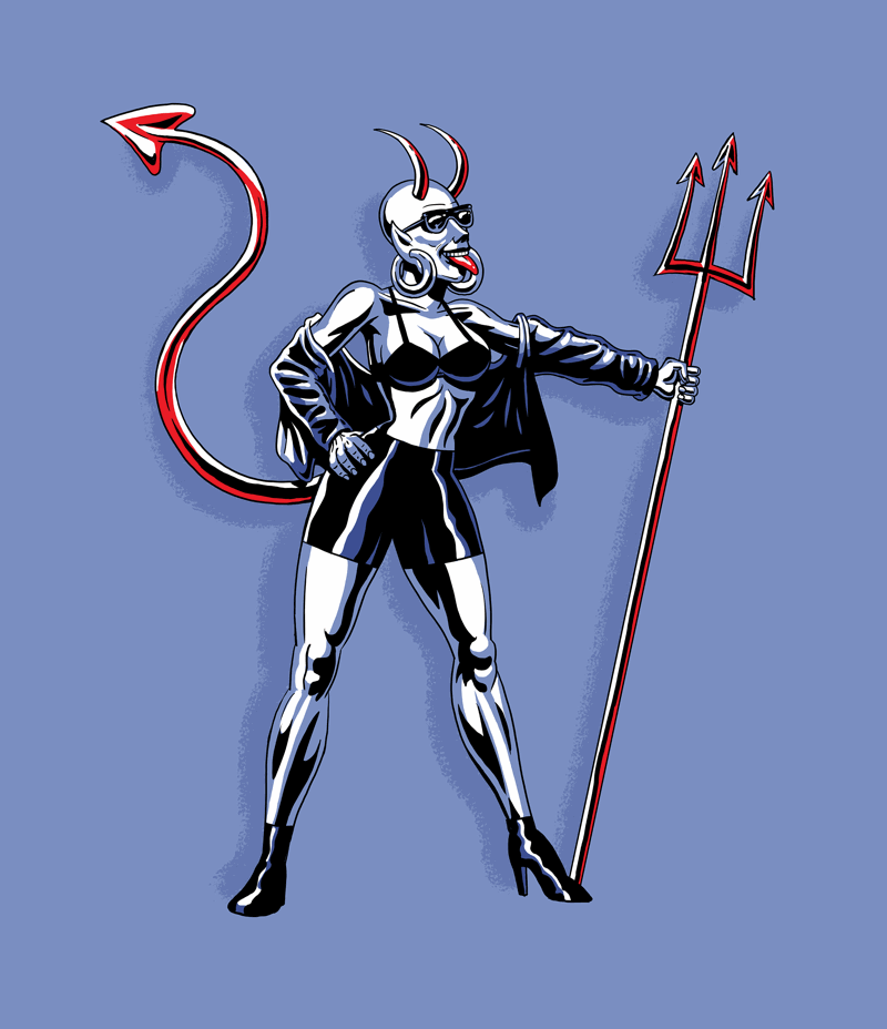 Devil Dahlia